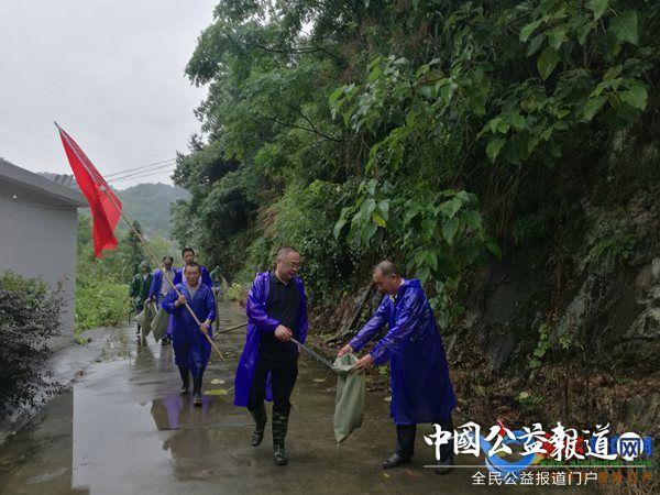 陈汉:开展河道清洁志愿服务活动