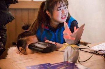 """北京建立首个""""儿童防丢防拐""""虹膜采集工作站"""