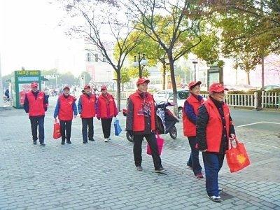 志愿者为农村安全保驾护航