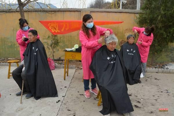 河北沙河市微力量公益协会深入山区前王峪村开展公益下乡活动