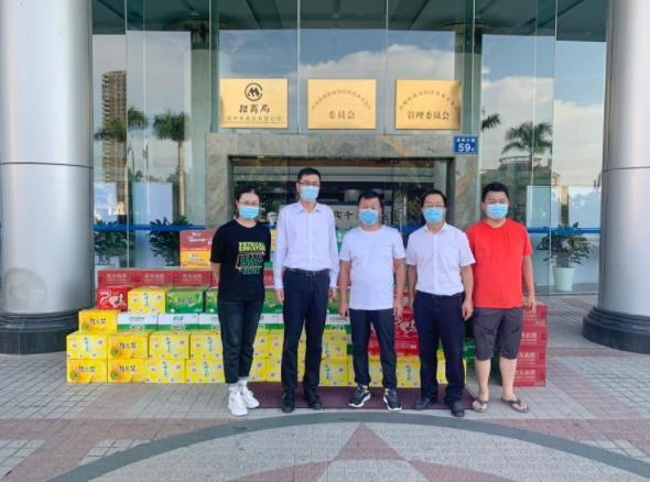「防疫抗疫」爱心企业捐赠食品物资 助力疫情防控工作